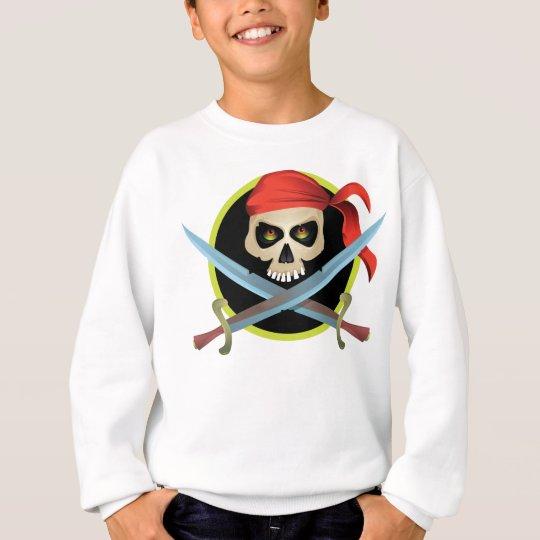 3D Skull and Crossbones Sweatshirt