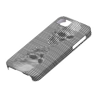 3D Skull Illusion Mirror Image iPhone 5 Cover