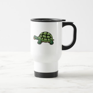 3D Sleepy Turtle 15 Oz Stainless Steel Travel Mug
