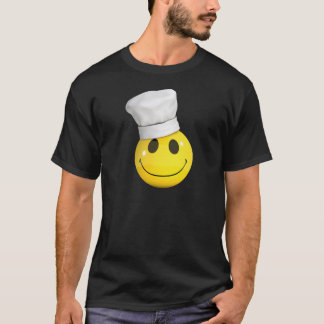 3d Smiley chef T-Shirt