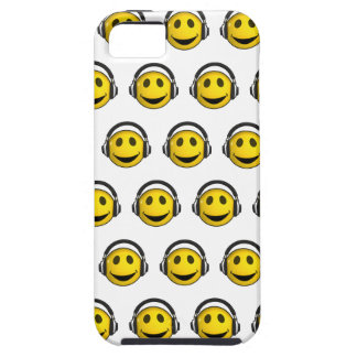 3d Smiley Groovy Headphones (Any Color u like!) iPhone SE/5/5s Case