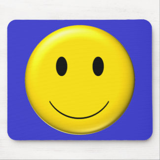 3D Smiley Mouse Pad