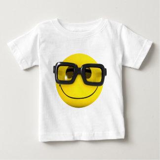 3d Smiley Nerd Geek Tshirt
