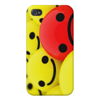 3D Smileys iPhone 4/4S Cover