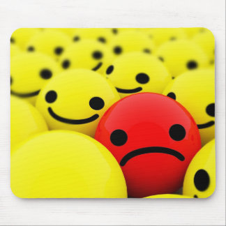 3D Smileys Mouse Pad