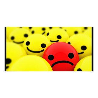 3D Smileys Photo Card