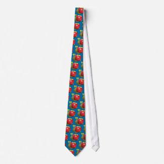 3d-snail-apple corbatas personalizadas