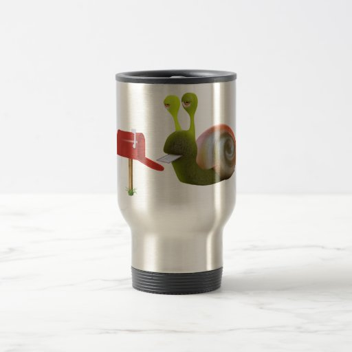 3d Snail Mailbox 15 Oz Stainless Steel Travel Mug