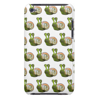 3d Snail (with editable background!) iPod Touch Case-Mate Case