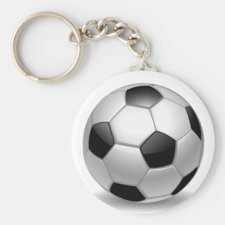 3D Soccer Football Keychain