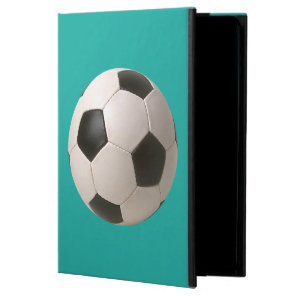 3D Soccerball Black White Football Powis iPad Air 2 Case