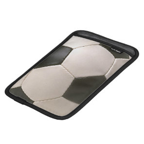 3D Soccerball Black White Football Sleeve For iPad Mini