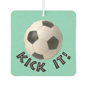 3D Soccerball Sport Kick It Car Air Freshener