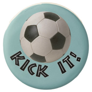 3D Soccerball Sport Kick It Chocolate Dipped Oreo