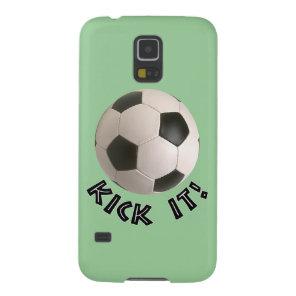 3D Soccerball Sport Kick It Galaxy S5 Cover