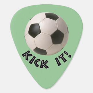 3D Soccerball Sport Kick It Guitar Pick