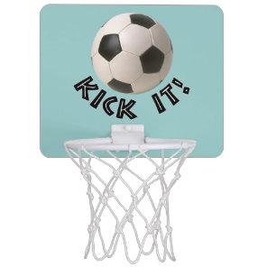 3D Soccerball Sport Kick It Mini Basketball Backboard