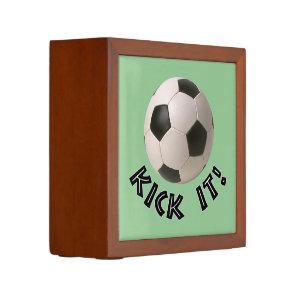 3D Soccerball Sport Kick It Pencil Holder