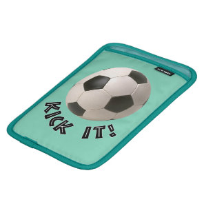 3D Soccerball Sport Kick It Sleeve For iPad Mini