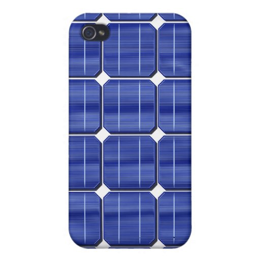 3d-solar-panel cover for iPhone 4