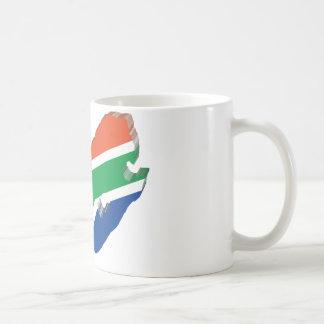 3D South Africa Coffee Mug