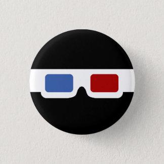 3D Specs (Original) Pinback Button