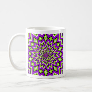 3D Starburst Coffee Mug