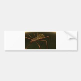 3D Steampunk spider Bumper Sticker