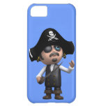3d Surprised Pirate (editable) iPhone 5C Cover