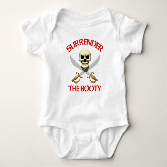 3D Surrender the Booty Baby Bodysuit