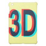 3D Three Dimension Design iPad Mini Cases