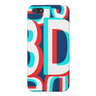 3D Three Dimension Design iPhone SE/5/5s Cover