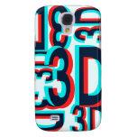 3D Three Dimension Design Samsung Galaxy S4 Case