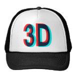 3D Three Dimension Design Trucker Hat