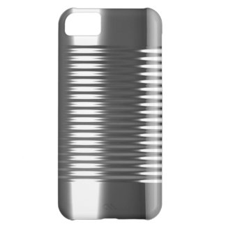3d Tin Can Texture iPhone 5C Cover