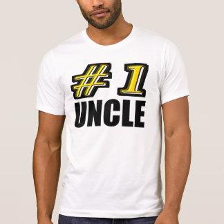 3D tío del número uno Playera