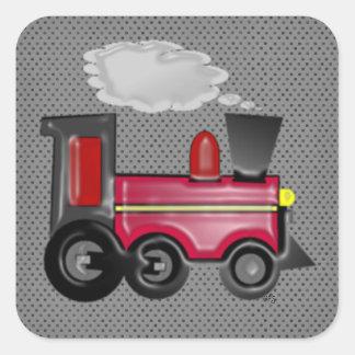3D Train Sticker