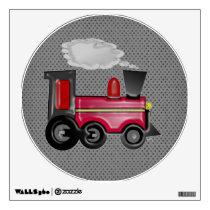 3D Train Wall Sticker