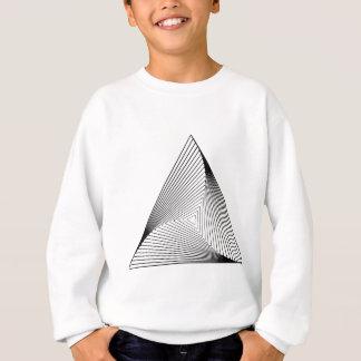 3d Triangle Optical Illusion Sweatshirt