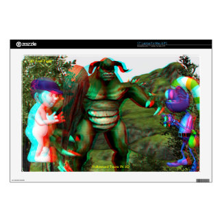 "3D Troll 17"" Laptop Skin Mac & PC"
