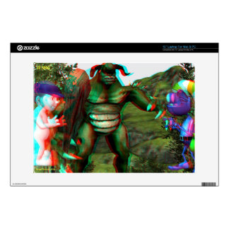 3D Troll Skin Hollywood Tours IN 3D Laptop Skins