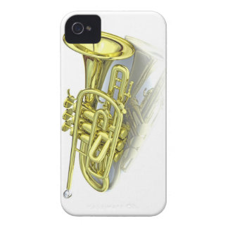 3d trumpet iPhone 4 cover