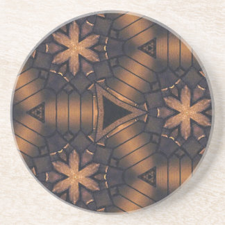 3D Tubular  Making Connections Hip Pattern Drink Coaster