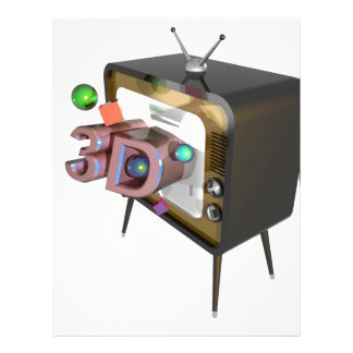 3D tv Letterhead
