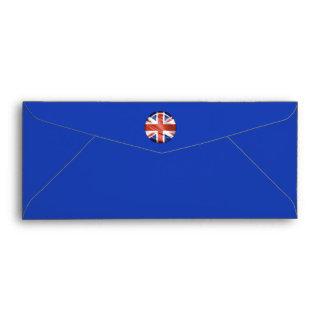 3D UK flag Envelope