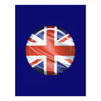 3D UK flag Flyer