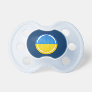 3D Ukraine flag Pacifier