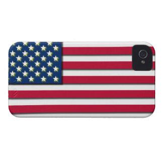 3D USA Flag America Stars Stripes BlackBerry Case