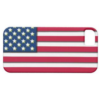 3D USA Flag America Stars & Stripes iPhone SE/5/5s Case