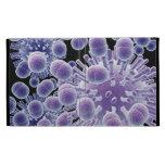 3d Viral Bacteria Micro Science Design iPad Folio Cases